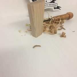Iroko Lager Tap Handle