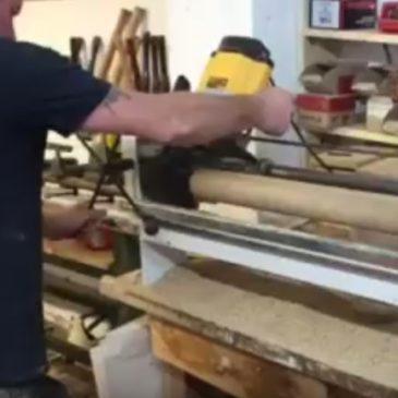 Wood Turning Beer Tap Handles